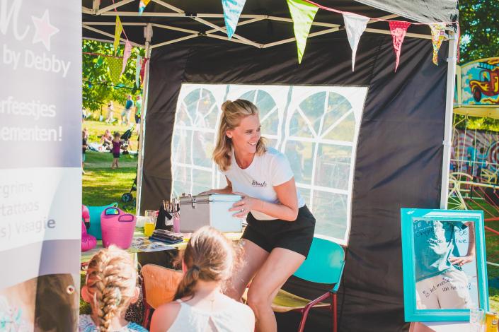 Toost foodtruck festival met gezin en kinderen