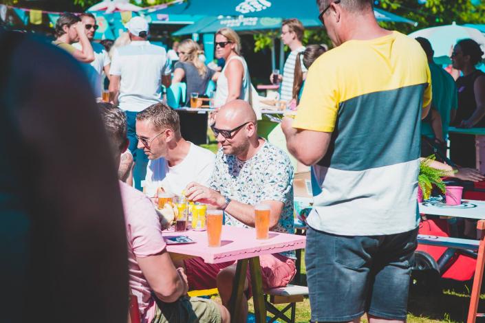 Toost Foodtruck Festival met vrienden